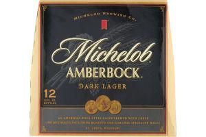 Michelob Amberbock Dark Lager - 12 PK