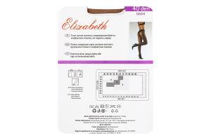 Колготки жіночі Elizabeth Bikini 40den 4 visone