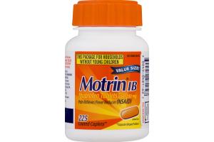 Motrin IB Coated Caplets - 225 CT