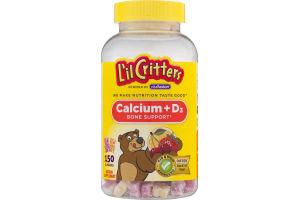 L'il Critters Calcium + D3 Bone Support Gummies - 150 CT