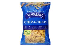 Вироби макаронні Спіральки Чумак м/у 800г
