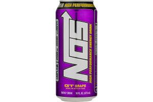 NOS High Performance Energy Drink GT Grape