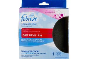 Febreze Vacuum Filter for Dirt Devil F16 - 1 CT