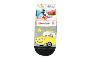 Носки дет Conte-kids Disney17С1351 сер/жел р12 363