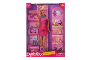 Кукла для детей от 3лет с обувью и аксессуарами №8233 Lucy Defa 1шт