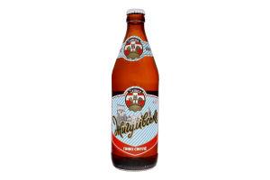 Пиво 0.5л 4.1% світле фільтроване пастеризоване Жигулівське Zeman пл