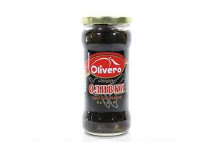 Маслины без косточек бочковые Olivero с/б 350г