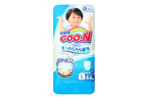 Трусики-підгузники Goo.N для хлопчиків 9-14 кг розмір L 753712