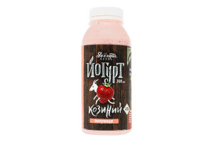 Йогурт 2.7% из козьего молока Клубника Доообра Ферма п/бут 300мл