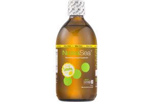 NutraSea Omega-3 Supplement Zesty Lemon Flavor