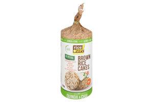 Хлебцы рисовые цельнозерновые Quinoa&Chia Rice Up! м/у 120г
