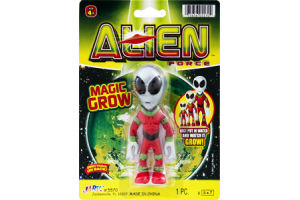 Ja-Ru Alien Force Magic Glow Put in Water and Grow Toy