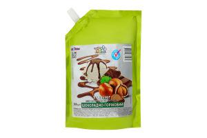 Топпинг для мороженого и десертов Шоколадно-ореховый Топпинг д/п 500г