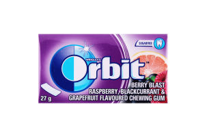 Резинка жевательная без сахара Ягодный взрыв Orbit к/у 27г