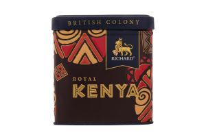 Чай черный Richard Royal Kenya ж/б