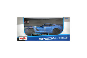Автомодель Maisto Chevrolet Corvette Grand Sport Blue 1:24