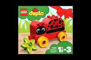 LEGO® DUPLO® My First Моя первая божья коровка 10859
