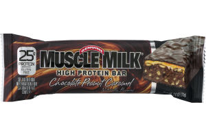Muscle Milk High Protein Bar Chocolate Peanut Caramel
