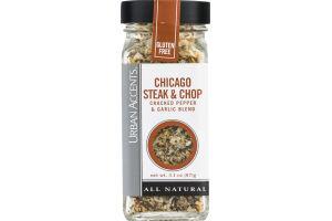Urban Accents Chicago Steak & Chop Cracked Pepper & Garlic Blend