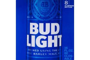 Bud Light Aluminum Bottles - 8 PK
