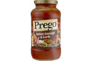 Prego Meat Sauce Italian Sausage & Garlic