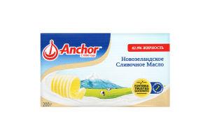 Масло 82.9% сладкосливочное несоленое Anchor м/у 200г