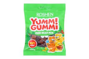 Цукерки желейні Mini Bear Mix Yummi Gummi Roshen м/у 100г