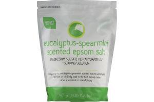 Smart Sense Eucalyptus-Spearmint Scented Epsom Salt