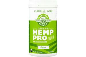 Manitoba Harvest Organic Hemp Pro Fiber Plant Based Protein Supplement
