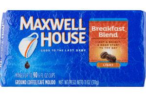 Maxwell House Breakfast Blend Light