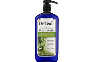 Dr Teal's Ultra Moisturizing Body Wash Relax & Relief With Eucalyptus Spearmint