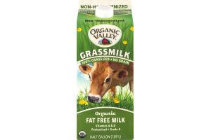 Organic Valley Grassmilk Fat Free Milk