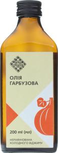Олія гарбузова Лавка традицій холодного віджиму нерафінована, 200 мл