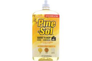 Pine-Sol Squirt 'N Mop Multi-Surface Floor Cleaner Lemon Fresh