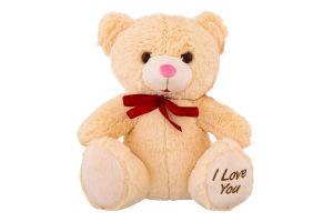 Іграшка м'яка для дітей від 3років Ведмедик I Love you Stip 1шт