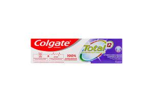 Паста зубная Профессиональная Здоровье десен Total 12 Colgate 75мл