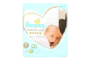 PAMPERS Дитячі підгузники Premium Care Newborn (2-5 кг) Упаковка 78