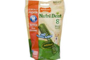 Nylabone Dog Treats Nutri Dent Medium - 8 CT