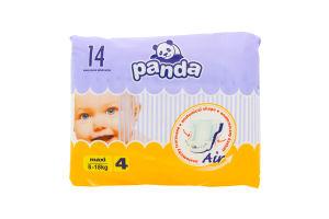 """Підгузники """"PANDA"""" maxi 14шт /Bella/"""