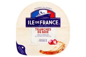 Сир Ile de France Брі 32% 150г Франція нарізка x8