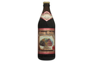 Пиво 0.5л 5.5% темное солодовое Krug Brau Festbier бут
