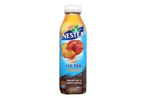 Холодний чорний чай зі смаком персику Nestea Ice Tea PET 0,5л