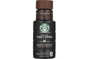 Starbucks Iced Coffee Lightly Sweetened