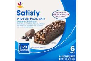Ahold Satisfy Protein Meal Bar Double Chocolate