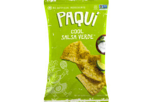 Paqui Cool Salsa Verde Tortilla Chips