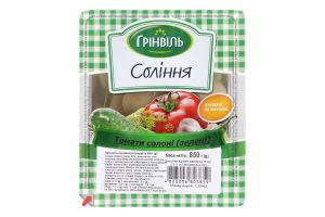 Соління Томати солоні зелені Грінвіль в/у 850г