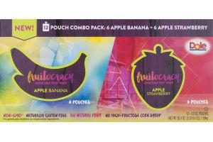 Dole Fruitocracy Combo Pack Apple Banana + Apple Strawberry - 12 CT