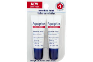 Aquaphor Lip Repair - 2 CT