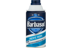 Barbasol Thick & Rich Shaving Cream Pacific Rush