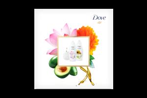 Набор подарочный Вдохновение Dove 1шт